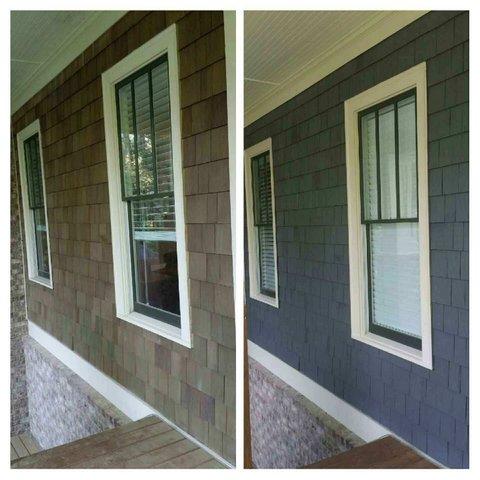 Painting Exterior Cedar Shingles Finishing Cedar Shingles